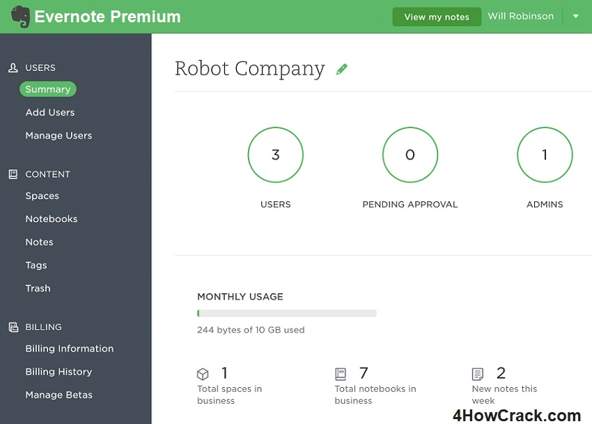 Evernote Premium 6 20 2 8626 With Crack Here | 4HowCrack