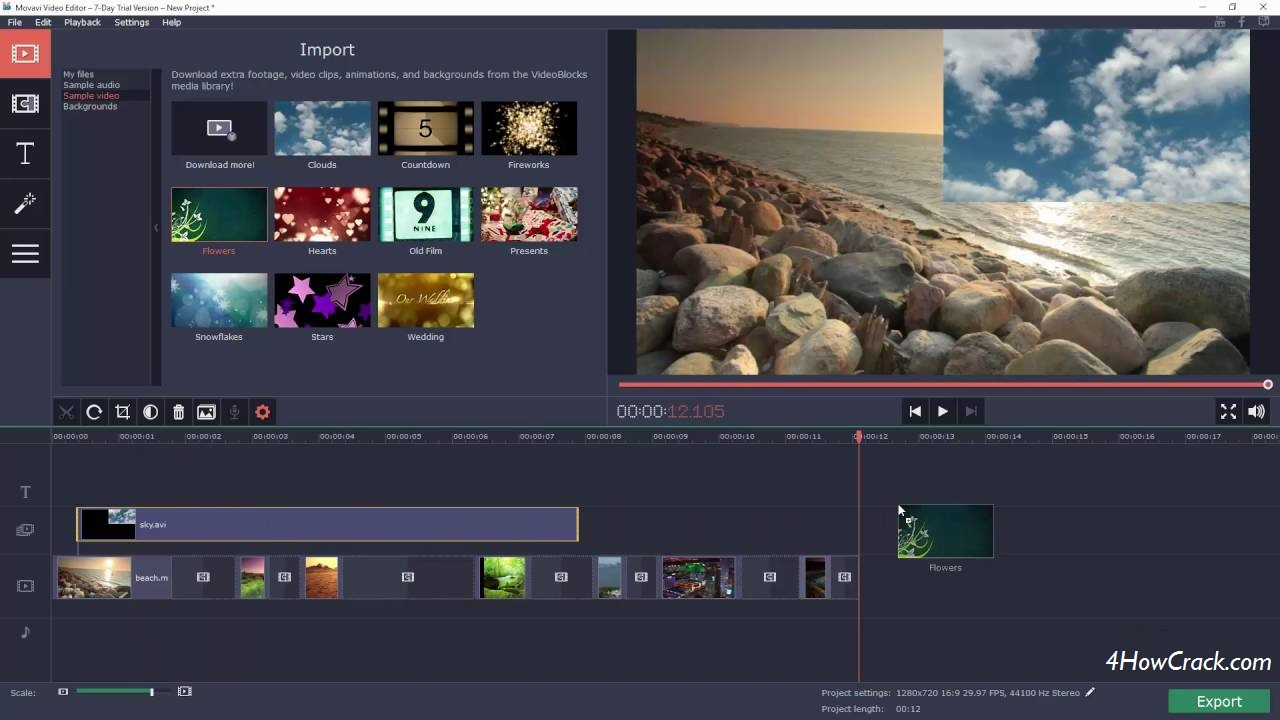 Movavi Video Editor Business 15.5.0 WIth Crack | 4HowCrack