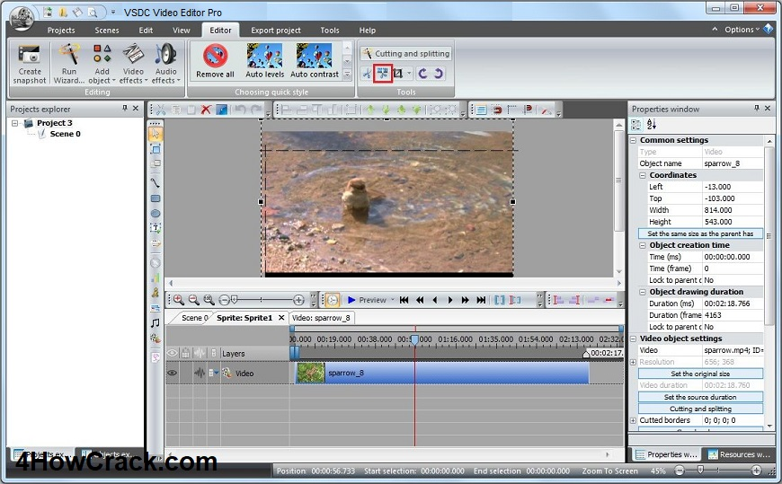 VSDC Video Editor Pro 6 3 8 46 With Full Crack | 4HowCrack