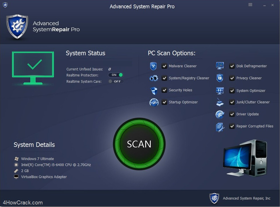 fix pc cleaner activation key