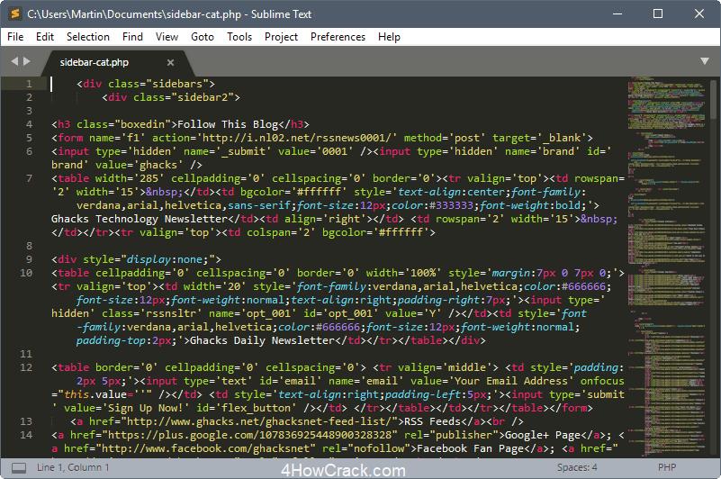 sublime text build 3200 license key
