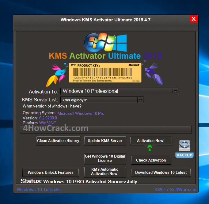 Windows KMS Activator Ultimate 2019 4 8 Full Download