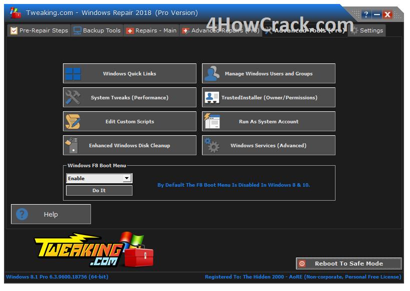 Windows Repair Pro 4 5 5 With Crack   4HowCrack